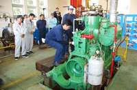「この音を聞きたかった」焼玉エンジン、58年ぶりに復活 沖縄水産高校で披露