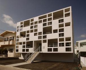 正賞一般建築部門 大嶺亮氏「FFD unit」 ファイブディメンジョン一級建築士事務所(浦添市)