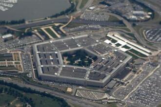 バージニア州にある米国防総省の本庁舎(AP=共同)