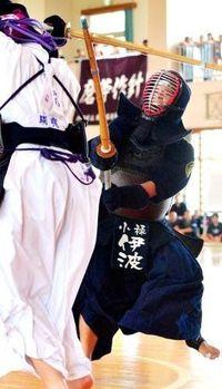 高校総体:剣道 小禄 初の男女同時V