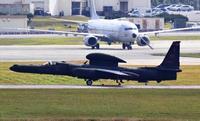 米軍U2偵察機、嘉手納に1機飛来 滞在4機に