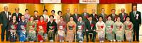 琉球舞踊探究へ決意 650人が祝福 新重文保持者27人認定