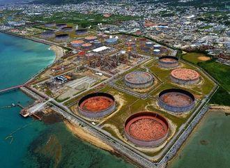 石油製品販売事業を撤退した南西石油の施設