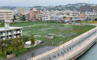 沖縄県警察総合訓練場(仮称)の建設予定地=糸満市西崎