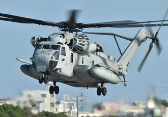 (資料写真)CH53大型輸送ヘリ