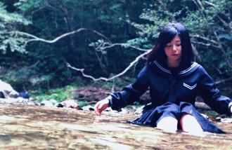 玉城聖奈さんを撮影した作品(北野さん提供)