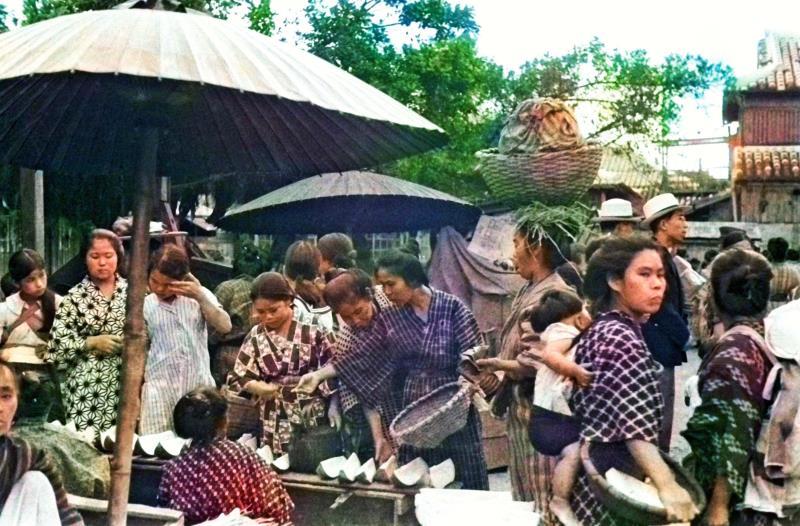 1935年の沖縄 色鮮やかに 首都大学東京チームが写真のカラー化 1935