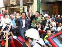 「チャンピオンおめでとう!」 比嘉大吾選手パレードに3000人祝福 宮古島