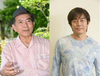 大工哲弘さん(左)と宮沢和史さん