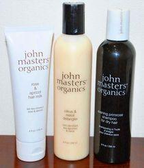 1カ月限定で販売される「ジョン マスター オーガニック」のヘアケア商品