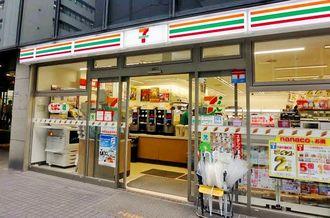 2018年の沖縄進出が検討されているセブン-イレブンの店舗=東京都内
