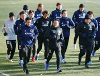 サッカー日本代表がベルギー入り マリ、ウクライナと親善試合