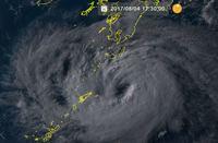 台風5号:5~6日に九州へ 影響は長時間、要警戒