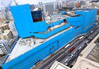 バスターミナルやOPAも入居、旭橋複合施設9月開業 県立図書館は12月開館予定