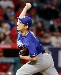 米大リーグ、前田3回3失点 平野は初失点、大谷は投打を練習