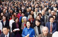 福岡など4県、自民分裂 11知事選が告示