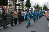 九州北部豪雨・被災地派遣の沖縄県警救助班が帰任 「想像以上の状況」自然の脅威痛感