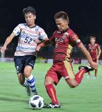 FC琉球3連勝、中川がロスタイム決勝弾 FC東京U-23に3―2