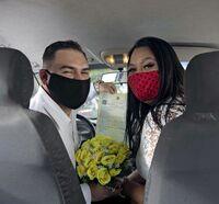 結婚式はドライブスルー/ブラジル コロナ禍で増加