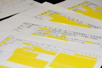 未成年の知的障害者が入所する山形県立の施設で見つかった資料のコピー