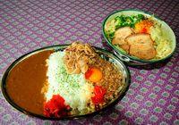 満腹確定!がっつり系まぜ麺&「Gライス」 宜野湾市佐真下「くろとんPlus+」