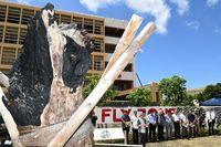 普天間飛行場の即時閉鎖を ヘリ墜落11年、沖縄国際大学が声明