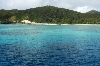 (資料写真)座間味島の海