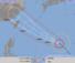 8日午後3時現在の台風8号の進路予想図(気象庁HPから)