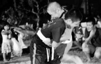 旧盆恒例の角力 熱戦/中城北浜で「ウンケージマ」