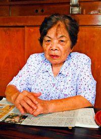 [語れども語れども・うまんちゅの戦争体験](263)/知念亨子さん/81歳、北谷町/フィリピンで家族失う/