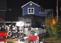 住宅火災で子ども2人死亡 兵庫・稲美町