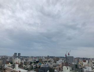 大気の状態が不安定です。あすの気象情報には注意を=10日、那覇市内