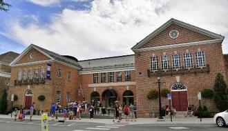 米国野球殿堂博物館=米ニューヨーク州クーパーズタウン