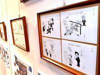 「苦笑いしても腹は立たない」 元沖縄知事も称賛 漫画で権力を風刺する「時事漫評」