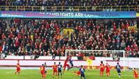 テロ、当局の判断待たず試合開始 ベルギー、サッカー日本代表戦で