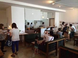 カフェをOpenしてからは、ゆっくりですが幅広いお客様にお越しいただいています。ぜひHPでカフェ営業の時間をチェックして起こし下さいね