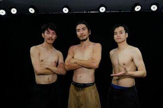 写真を拡大 USANDAY(右から福地涼、神田青、朝海雅愛)