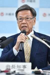 翁長沖縄知事、すい臓に腫瘍 手術後公務復帰へ「責任を全うしたい」