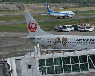 南ぬ島石垣空港=2013年3月