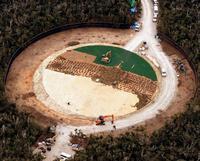 米軍ヘリパッド完成 沖縄県が初の立ち入り調査