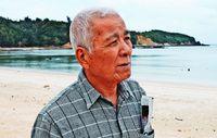 沖縄・基地白書(1)「今もこんなだからね」 静かな集落、上空を旋回する米軍ヘリ