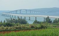 台風25号:伊良部大橋など宮古島の3橋、通行止め解除