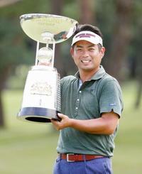 男子ゴルフ、池田が通算20勝目 11人目、3番目の若さ