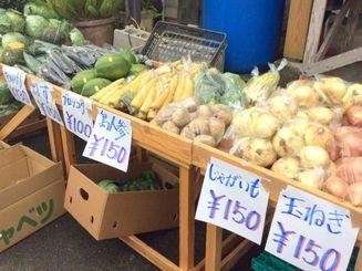 野菜はどれも激安です。