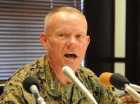 ニコルソン司令官「好意的通報」 米軍F35B初飛来で 沖縄県は負担増懸念