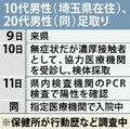 沖縄で団体旅行中だった 埼玉の男性2人、新たにコロナ感染判明