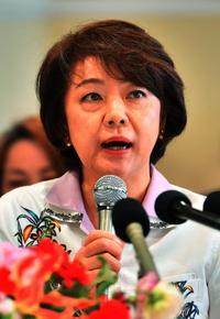 島尻安伊子氏、辺野古新基地を容認 衆院3区補選で政策発表