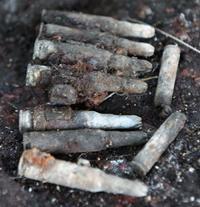 北部訓練場の返還跡地に空砲7発 国頭村安田 沖縄県警が回収