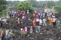 ごみの山崩れ住民17人死亡 モザンビーク、生き埋めに