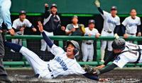 浦添商、シードの知念下す 沖縄県春季高校野球